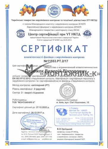 сертификат капиляр