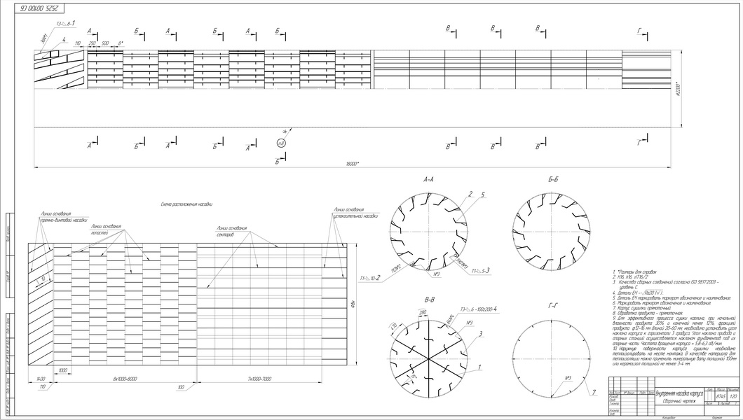 схема насадки БН-2.2-18